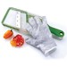 Slicing Glove: The secret to less blood, sweat & tears in the kitchen. This made in the USA slicing glove protects hands from the sharp edges of mandolines, graters and knives. Available in 3 sizes.