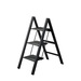 Stylish, Stable, Safe!  Incredibly slim ladder when folded (2