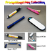 A small selection of our promotional pen series.  These are available only directly from the Far East.  Please inquire about more styles, functions, etc.  We have many more to choose from.