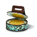 Now you can take your desserts in style, with the Picnic Plus cake carrier. The large 12