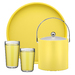 Our Bartender's Choice Fun Colors features 10 bright color choices.  Ice Buckets, Double Wall Drinkware, Waste Baskets, and Trays.  Brighten up your assortment for Spring 2012