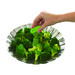 The TOUCH Vegetable Steamer comes with a telescoping handle, designed to keep hands away from the hot steam while removing it from the pot. When retracted, the steamer neatly folds and fits in any kitchen drawer.