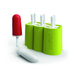 From Zoku's new Slow-Pop™collection, Zoku's Classic Pop Molds let your create 6 pops with a classic shape. Designed for easy cleaning and use, the Classic Pop Molds feature 6 removable molds and 6 sticks with drip guards. BPA and phthalate fee.