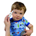 Simple to use, this thermometer takes non-invasive measurements quickly and easily in only 6 seconds.