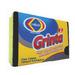 2 Pack Scouring Sponge heavy duty fiber
