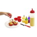 Turn cupcakes into an art form with this 14-piece set that includes Decorating Squeeze Bottles, Silicone Cupcake Liners, Tall Batter Bottle, Cupcake Corer, Flexible Offset Spatula and Steel Decorating Tips.