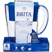 6 cup capacity, blue, water filtering pitcher