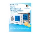 Experience our world renowned Sound Oasis sleep sound therapy while traveling. New white color!