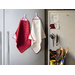 Attach your kitchen towel to almost any metal surface. The MagneticTowel features two sewn-in magnets providing a convenient time-saver that is always at arm's length. Simply attach to most metal surfaces or loop around any handle without falling down. The special weave of microfiber creates channels to quickly trap liquids, leaving surfaces completely dry. The MagneticTowel by KMN Home combines the best materials and design into an affordable product that you can rely on to get the job done.