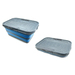 SM3330 Collapsible Plastic Storage Box/Container, Size: 63x42x18.5cm.  Great for outdoor activities.  BPA free
