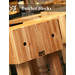 BOOS BLOCK® butcher blocks, work tables, and kitchen carts are made of solid North American Hardwoods (Hard rock maple, American Cherry, Black Walnut) and food service grade stainless steel.