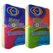 2 Pack Scouring Sponge, Multipurpose scouring sponges, One color for each use