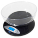 The AMW-5KBOWL makes the perfect kitchen pal. Its durable and user friendly design makes everyday kitchen measuring quick and very easy. The backlit LCD display helps make the numbers viewable and easy to read. This scale offers diversity with functionality. Use the bowl to weigh your ingredients or remove the bowl and place your items directly on the weighing surface. Need more surface? Take it one more step further. Using the tare feature will give you that extra control to use a larger flat surface for additional weighing surface. Clean up is easy and a snap; the sturdy and durable bowl is dishwasher safe. Want grams or pounds? Change modes with a click of a switch.