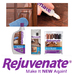 Rejuvenate Cabinet and Furniture Cleaners and Restorers are designed to make what's old look new again.  Rejuvenate Cabinet & Furniture furniture cleaning and restoration products can be safely be used to restore and maintain the following surfaces: Laminates / Paneling / Formica / Finished Wood.  Make your cabinets and furniture new again with Rejuvenate Cablinet and Furniture Cleaners and Restorers.