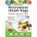Turn your microwave into a healthy steam cooking system.  Cooking veg is so easy and quick, no water, no pans and they retain all the nutrients of the veg. But you can cook so much more, chicken, meat, rice. The steam bags can be a great aid to weight loss