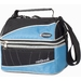 Insulated Cooler - Quilted Stitch Design - Cushion Grip Handle - Shoulder Strap - Front Zipper Pocket