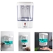 The automatic soap dispenser with smart motion infrared sensor provides you a sanitary, no-touch and easy-to-use experience without excessive spillages. Perfect to use at bathroom, kitchen, office, school, hospital, hotel and restaurant. Applicable to all-purpose brands of liquid soap, dish soap, body lotion, shampoo, make sure the soap is not too thick. 700ml capacity, the battery and liquid are not included. FOB $13.95/pc net for 3,000 pcs